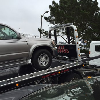 Encino flatbed towing